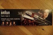 Glätteisen Braun Satin Hair 5