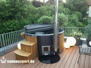 Badezuber - GFK-200cm Massage V4 Holzofen