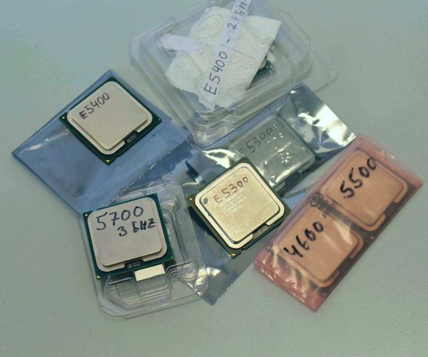 Intel Dualcore E-5300 Serie also