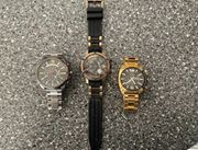 3x markante Uhrenmodelle