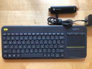 Chromebit und Tastatur