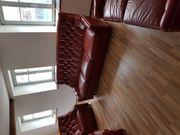 Vintage Leder Sofa und Sessel