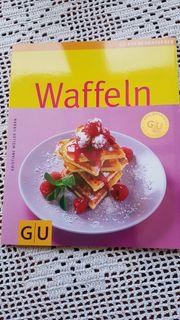 Waffeln modernes neuwertiges Kochbuch von