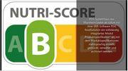 NutriScore-Produktspezifikation einfach erstellen