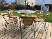Bistro Terrassen Garnitur günstig abzugeben