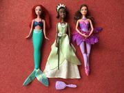 3 Barbie Puppen