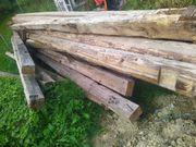 Alten Dachstuhl zu verkaufen Nur