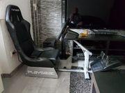 Spielesitz Playseat mit G29