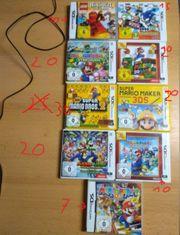 Nintendo DS 3ds Spiele Sehr