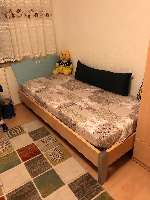 Guter Zustand Jugenzimmer Kinderbett Schlafzimmer Schrank ...
