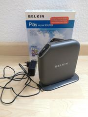 Belkin Play WLAN Router Modem