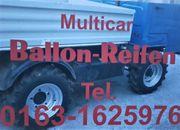 Multicar Geländereifen Ballonreifen neu M24