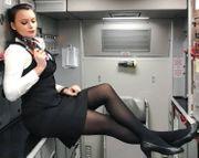 Dessous von Stewardess