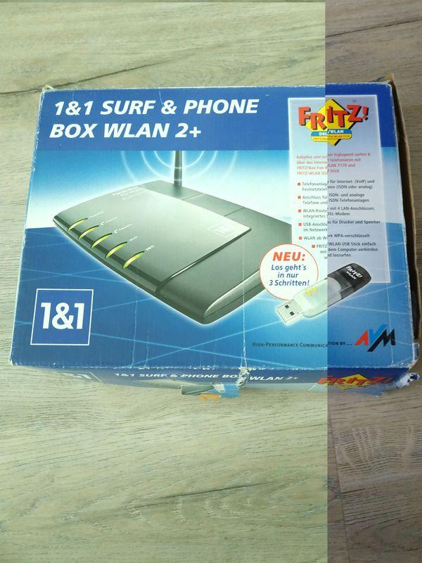 FritzBox 7170 mit WLan Stick (Surf&Phone Box von 1&1)