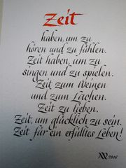 Kalligraphie Kurse