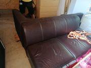 Leder L-Couch