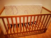 Wellemöbel Hugo Baby Kinderbett Weiss