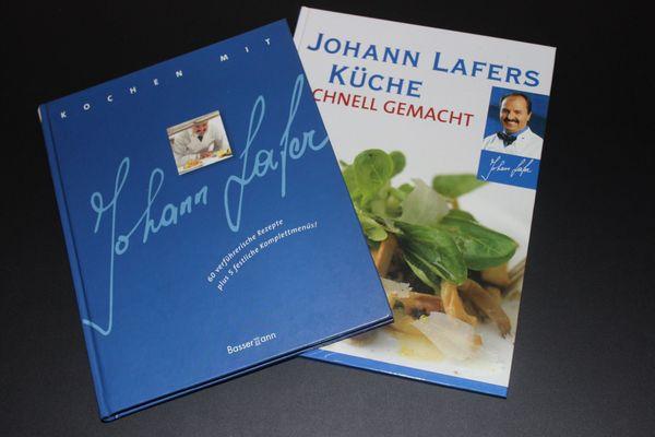 Kochbücher Johann Lafer unbenutzt
