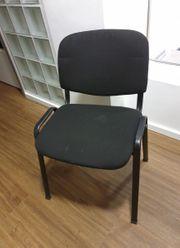 Stühle gepolstert stapelbar 6 Stück