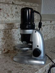Mikroskop USB TV-Bild von Aldi