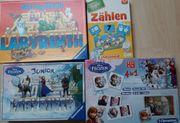 Diverse Spiele für Kinder Frozen