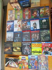 GROSSE BLURAY DVD-SAMMLUNG TOPZUSTAND 270