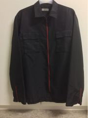 Wormsland Schwarzes Hemd Jacke mit