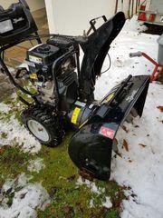 Leistungsfähige 7 KW Schneefräse mit