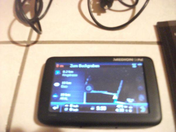mobiles gps navigationsgerät e 4460