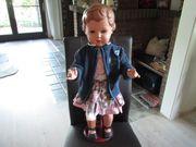 alte Schildkröt - Puppe 70 cm