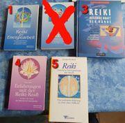 Reiki Fachbücher neuwertig