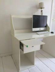 Schreibtisch mit Aufsatz