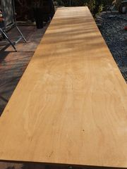 Tapeziertisch drei teilig aus Holz