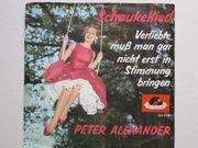 Schallplatte Peter Alexander