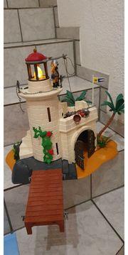 Playmobil Soldaten Bastion mit Leuchtfeuer