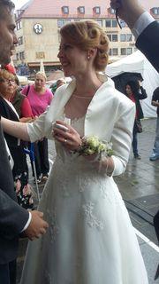 Bolerojacke Ivory - passend zu Brautkleid