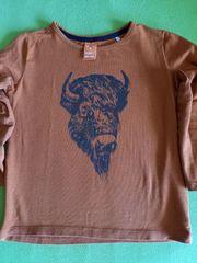 Pullover mit Abb Bison Gr