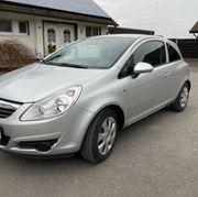 Opel Corsa D - gepflegt sparsam