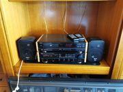Denon Stereoanlage mit Magnat und
