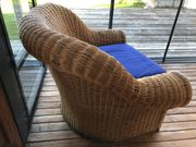 Ratan Sessel für Balkon Garten