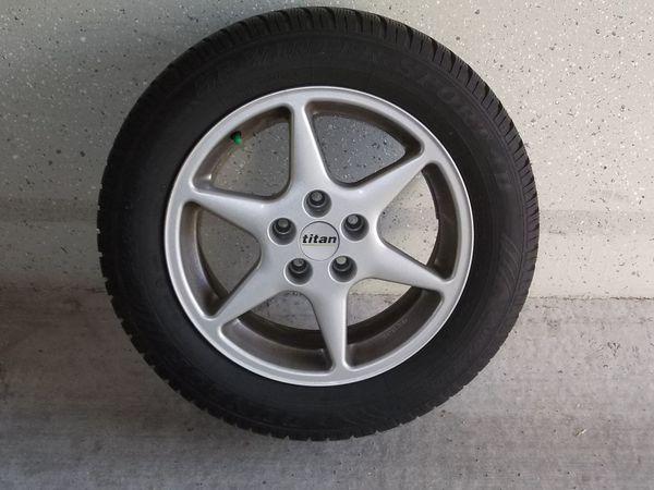 4x Winterreifen Dunlop SP 205