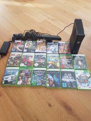 X Box 360 mit Kinect