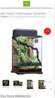 Exo Terra Habitat Kit Rainforest