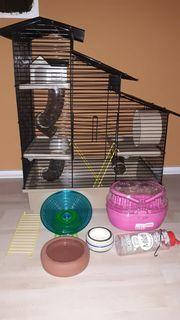 Hamsterkäfig kleintierkäfig 47cm x 32cm