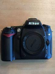 Nikon D90 SLR-Digitalkamera Gehäuse inklusive