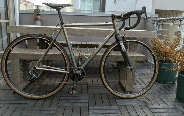 Custom Titanium Stinner CX Bike -