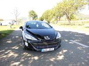 Peugeot Cabrio 308 CC schwarz