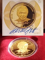 Goldmedaille Karel Gott 75