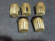 5 Stück Heimeier Thermostat-Kopf K
