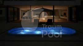 Sonstiges für den Garten, Balkon, Terrasse - GFK Schwimmbecken Pool 6 4